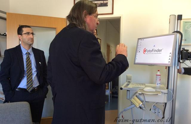 Приобретение аппарата Fotofinder для клиники Melanomaunit